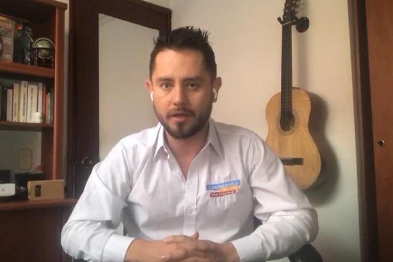 Andrés Roldán Niño, director de Gobierno Digital de la Secretaría de Tecnologías de la Información y las Comunicaciones de Cundinamarca.