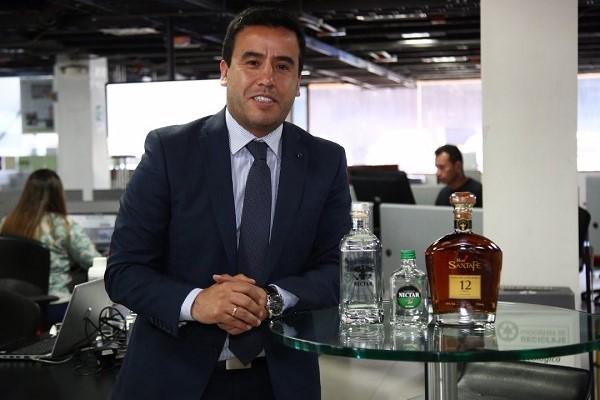 Jorge Enrique Machuca, gerente general de la Empresa de Licores de Cundinamarca.