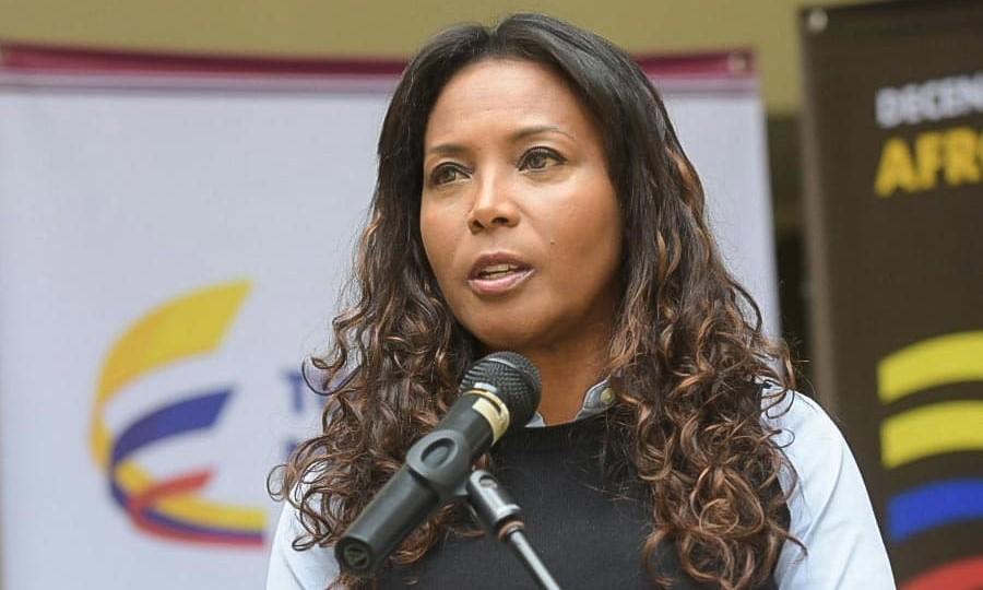 Carmen Inés Velásquez, ministra de Cultura.