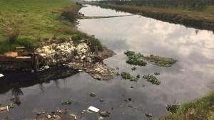 Residuos sólidos río Bogotá
