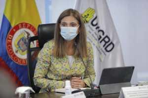 Ministra de Transporte, Angela María Orozco