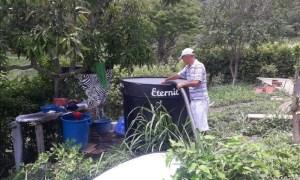 Suministro de agua a las veredas por EPC.