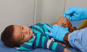 Vacunación de niños en Cundinamarca