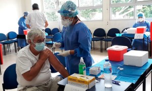 Aplicación vacunas covid 19 Cundinamarca.